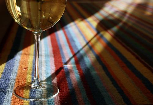 White Wine, Rainbow Rug 2