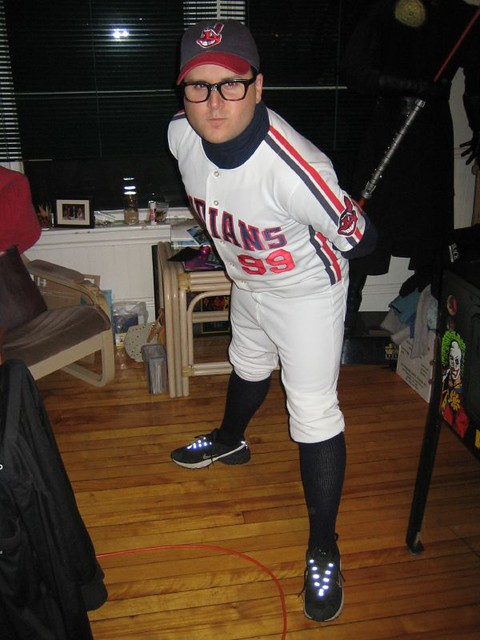 Dan As Wild Thing Rick Vaughn From The Movie Major League