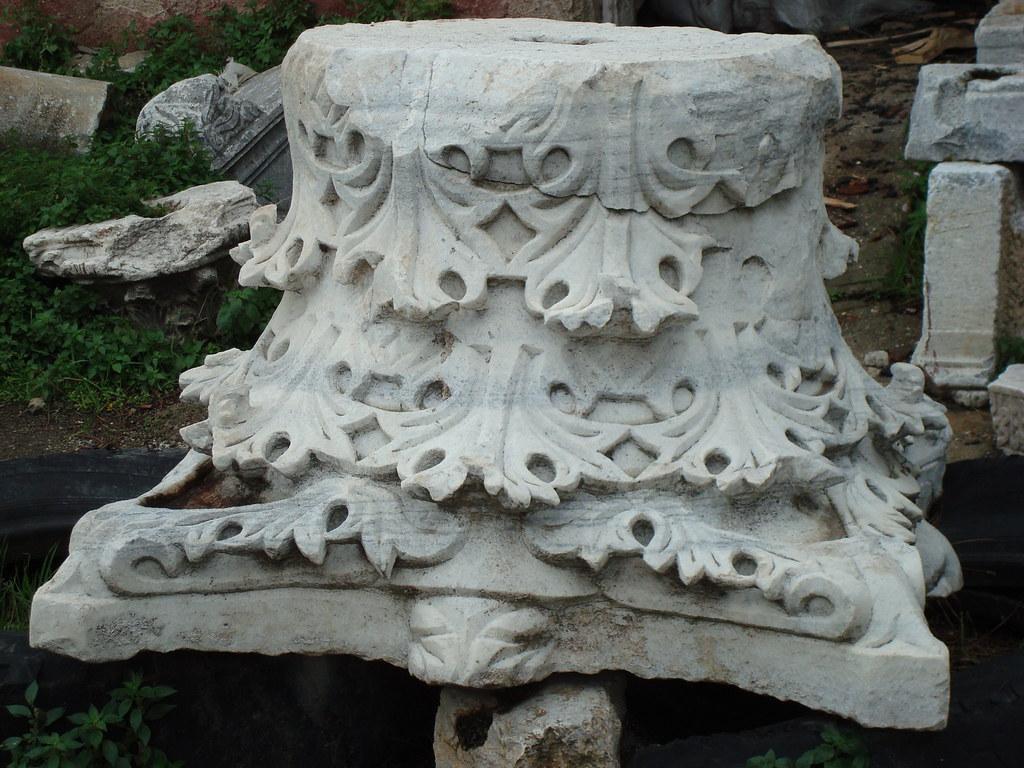 Byzantine Column Capital
