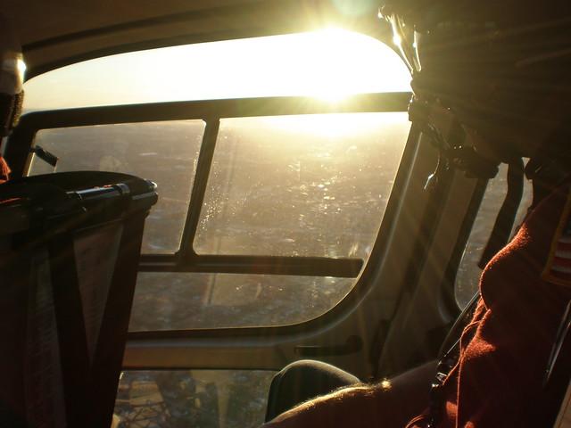 Sunset over Oklahoma City