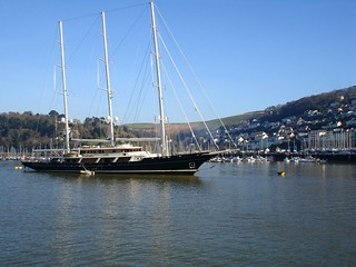 "DSC00784 Dartmouth, The Yacht, ""EOS"". 