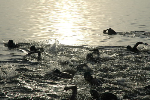 White Lake Half Ironman Triathlon Swim Start 039 | by cygnus921