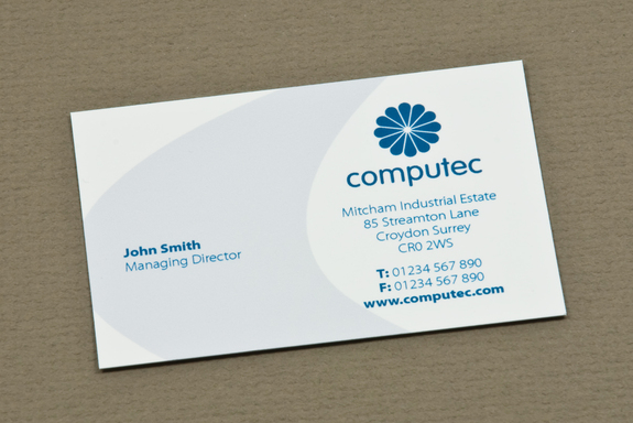 blue it consulting business card  a photo on flickriver