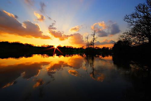 Mote Park Sunset