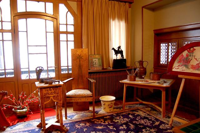 Queen Marie's Art Room