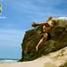 カポエRodrigo Sá ロドリゴの イラのビーチ Capoeira in Beach in Spiaggia la playa Strandnähe  קפואירה על החוף by Rodrigo Sá