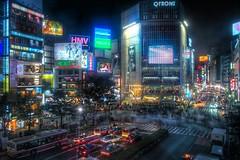 Shibuya Night (HDR) | by Guwashi999