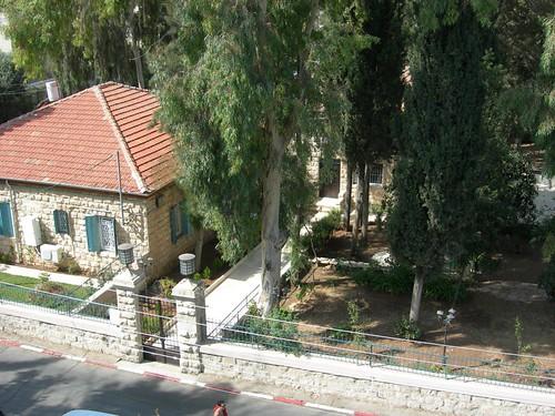 View over Greek Community center, Greek Colony, Jerusalem