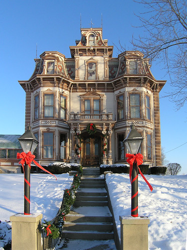 architecture geotagged indiana richmond mansion secondempire waynecounty gaar nationalregisterofhistoricplaces waynecountyindiana gaarmansion geo:lat=39849238 geo:lon=84866488 ecard|holidays~and~seasons|christmas ecard|landmarks|mansions