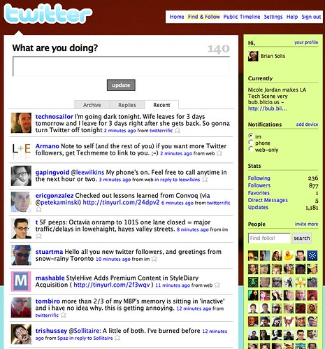 Twitter Screenshot December 2007 | by The Brian Solis