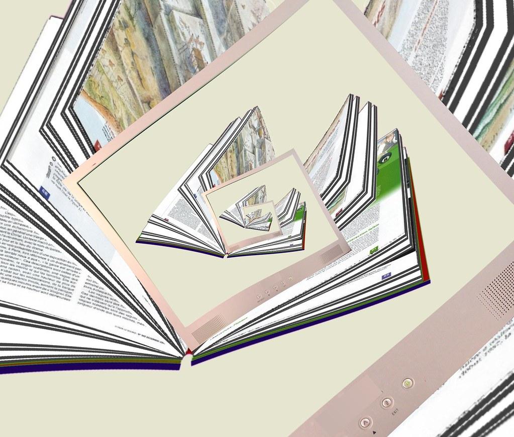 Book Screen Infinity Livre Ecean Infini