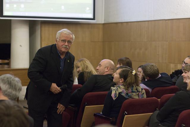 Апр 7 2015 - 19:49 - Встреча с актером Сергеем Никоненко