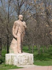 Walking Lenin