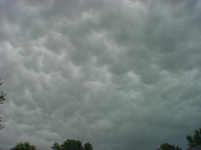 May 28th, 2005 - Cumulonimbus, & Cumulonimbus Mammatus clouds