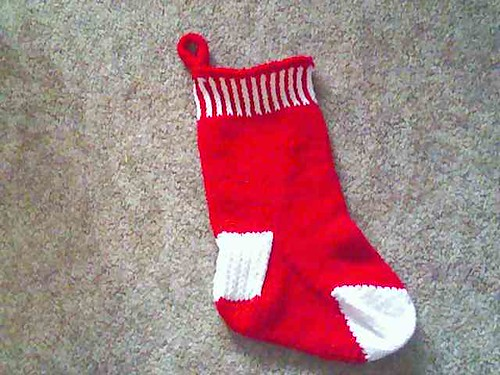 Red Christmas sock | by TerrapinCreations