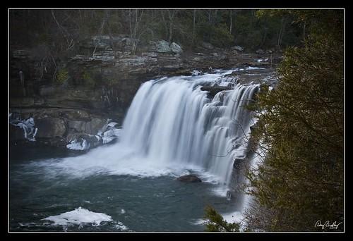 trees ice river geotagged waterfall rocks alabama cascade littleriverfalls