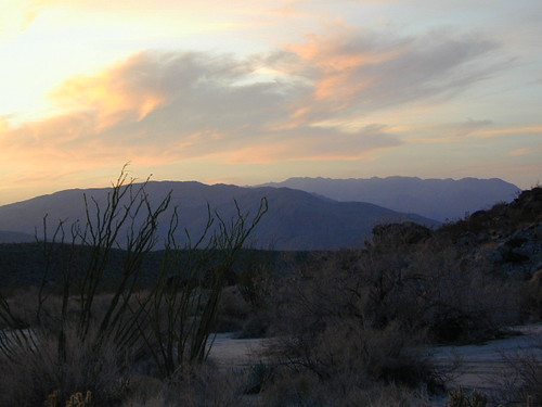 Anza Borrego Desert Sunset