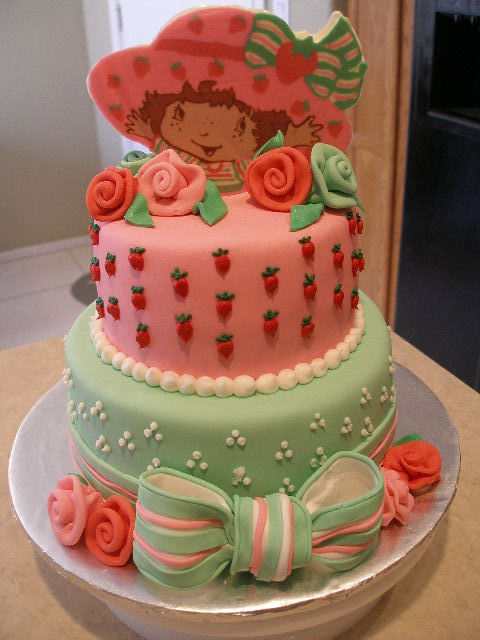 Phenomenal Strawberry Shortcake Birthday Cake Wow I Wish I Could M Flickr Personalised Birthday Cards Veneteletsinfo