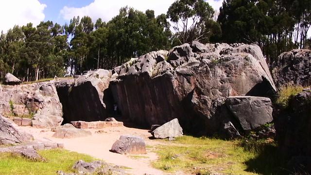 Peru-Cusco - Kenko - Inka-Heiligtum der Erdgöttin Pachamama