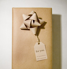 recycled paper gift wrap | by acd111