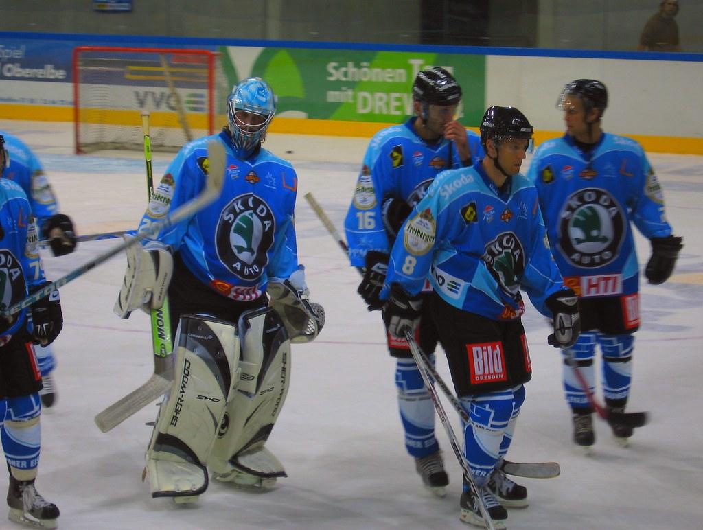 Dresdner Eislöwen Spieler