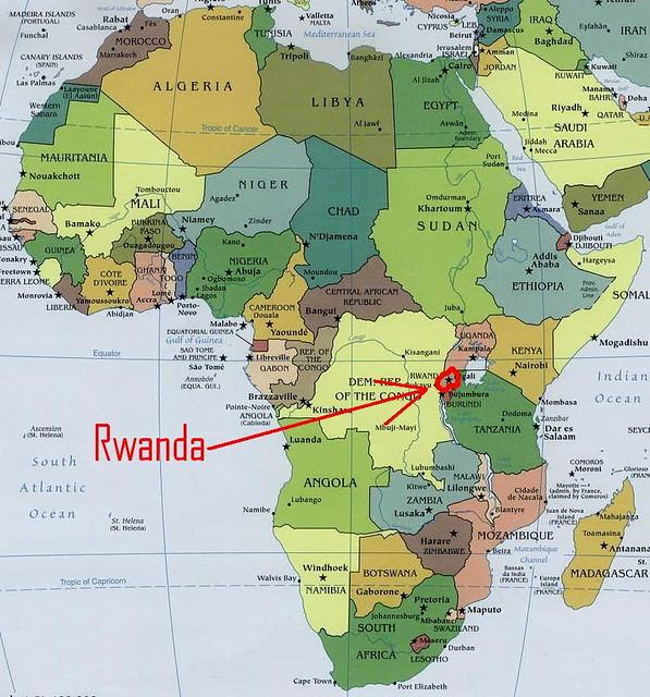 Africa Map 3   Rwanda   Team Berryman   Flickr
