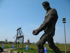 Sculpture Outside Zaanse Schans Museum