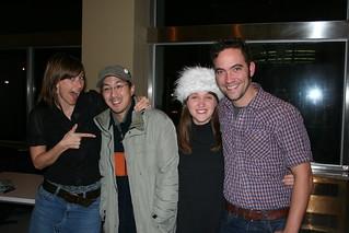 With Kryie Kristmanson, Justin Rutledge and Amanda Putz | by Lenny W.