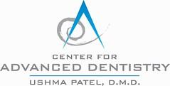 Center for Advanced Dentistry Logo | by Dr. Ushma Patel Dentist