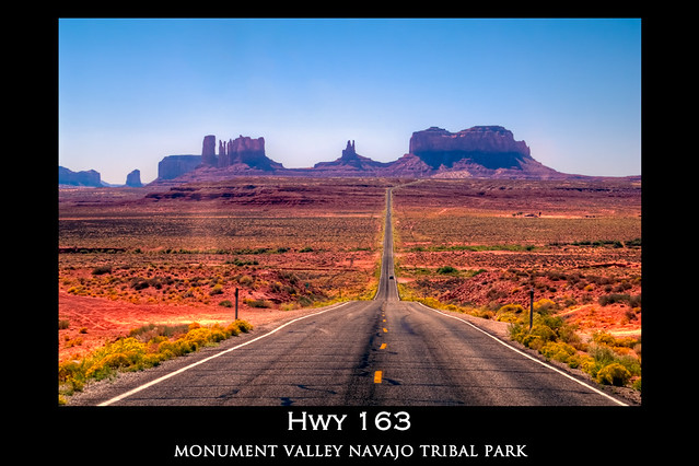 Hwy 163 Poster