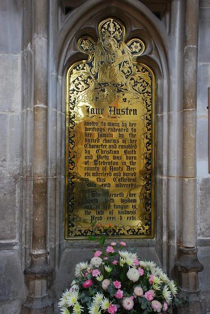 Jane Austen's tomb (1)