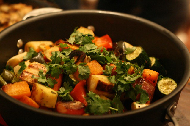 Mmm, roasted root veggies