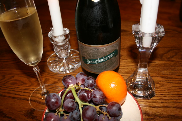 Still Life with Champagne