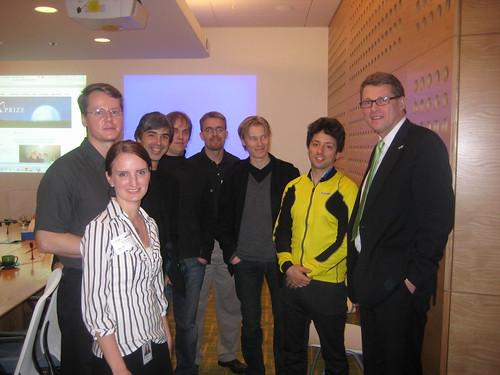 Group photo with Vanhanen