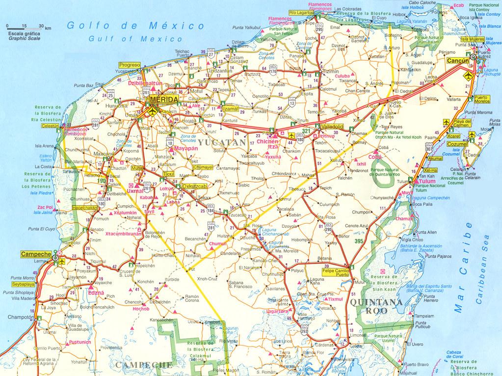 Yucatan Map | Best Viewed Large On Black! | Halogenure | Flickr on zacatecas map, oaxaca map, pampas map, mahahual map, baja map, cozumel map, cancun map, belize map, merida map, quintana roo map, mexico map, riviera maya map, tenochtitlan map, puerto rico map, chiapas map, hawaii map, campeche map, mesoamerica map, panama map, guadalajara map,