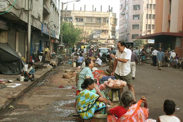 টেরিটি বাজার চায়নাটাউন, কলকাতা