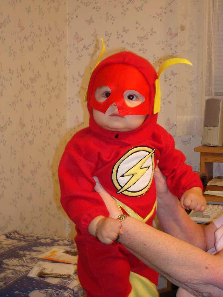 BABY FLASH MY NEPHEW S FIRST HALLOWEEN MIDIMAN FLICKR