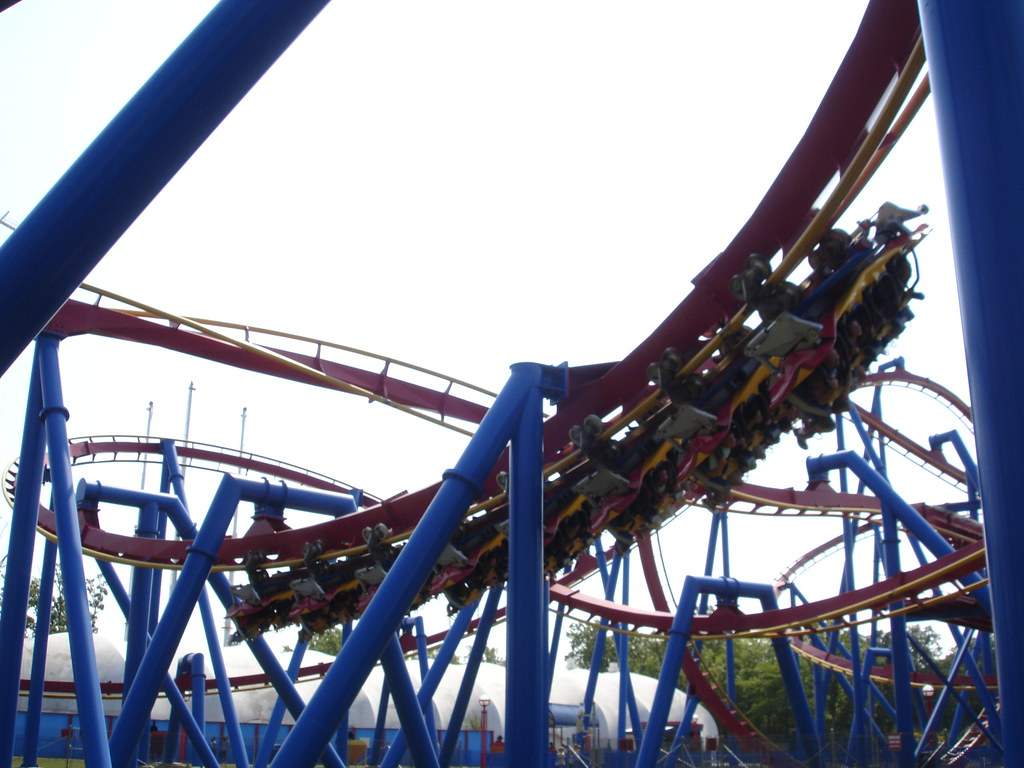 Superman - Six Flags Great Adventure