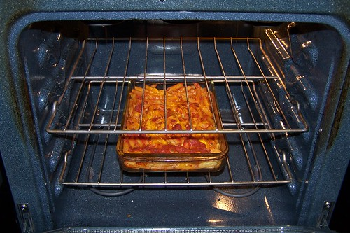 pasta+sauce+cheese+oven