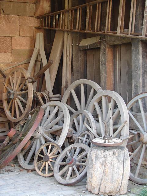 Wheels, Hessen Park shed