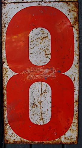 orange eight   by Rootytootoot