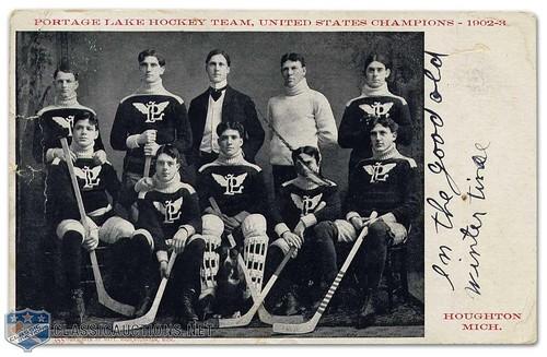 Portage Lake 1902-03 | by spyboylfn