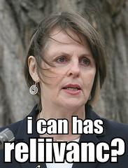 lyn allison: i can has reliivanc?