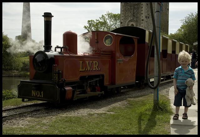 Luke & Zebedee the train