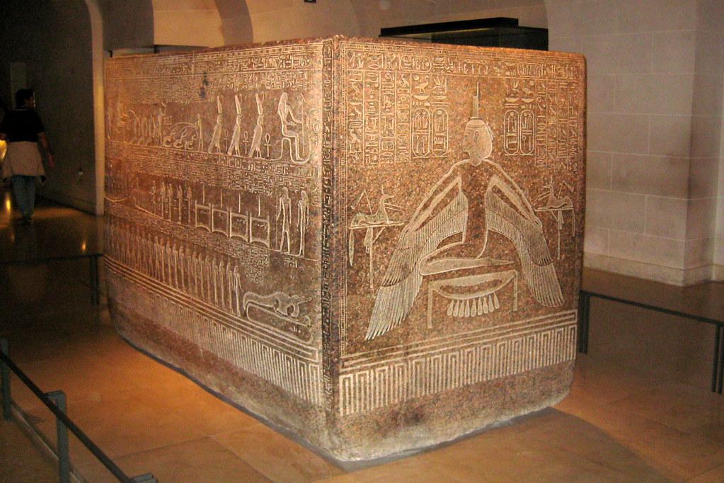 Paris Mus 233 E Du Louvre Sarcophage Du Roi Rams 232 S Iii