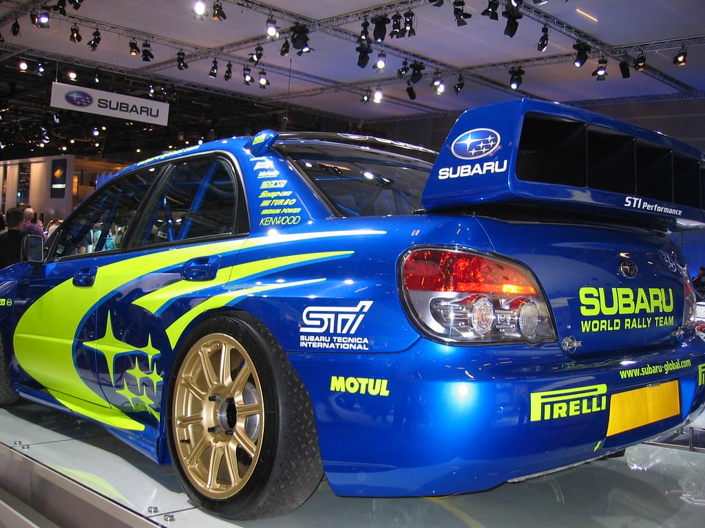 Subaru Rally Car >> Subaru Wrx Sti Rally Car Subaru Wrx Sti Rally Car At The 2
