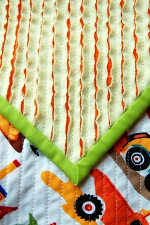 Faux Chenille Boy Blanket | by Sarah.WV