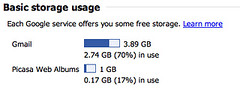 Gmail adds more free storage | by anonymonk