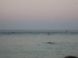 Swim start | by ZarrSadus