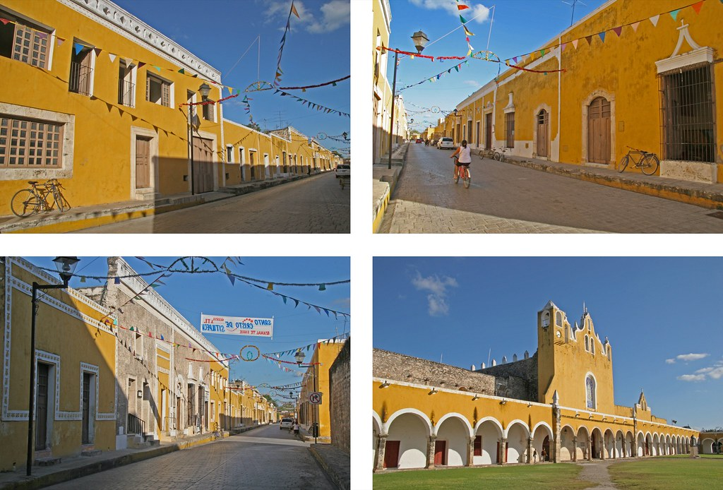 Izamal's yellow buildings